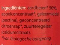 Fruitbeleg Aardbeien - Ingrédients - nl