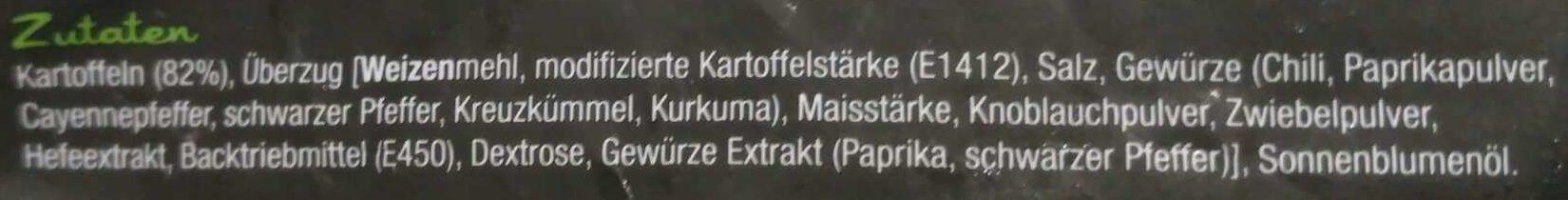 Twisted Fries Seasoned - Ingrédients