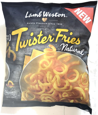 Twister Fries Natural - Produit