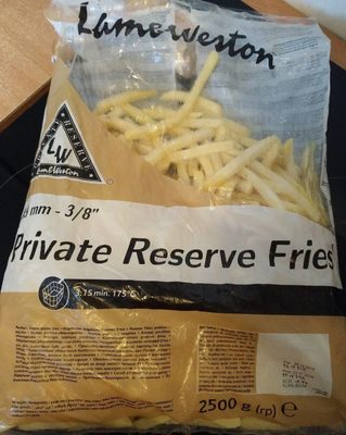 "Private Reserve Fries 3/8"" - Produit"