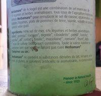 Herbamare Original Kruidenzout - Ingrediënten