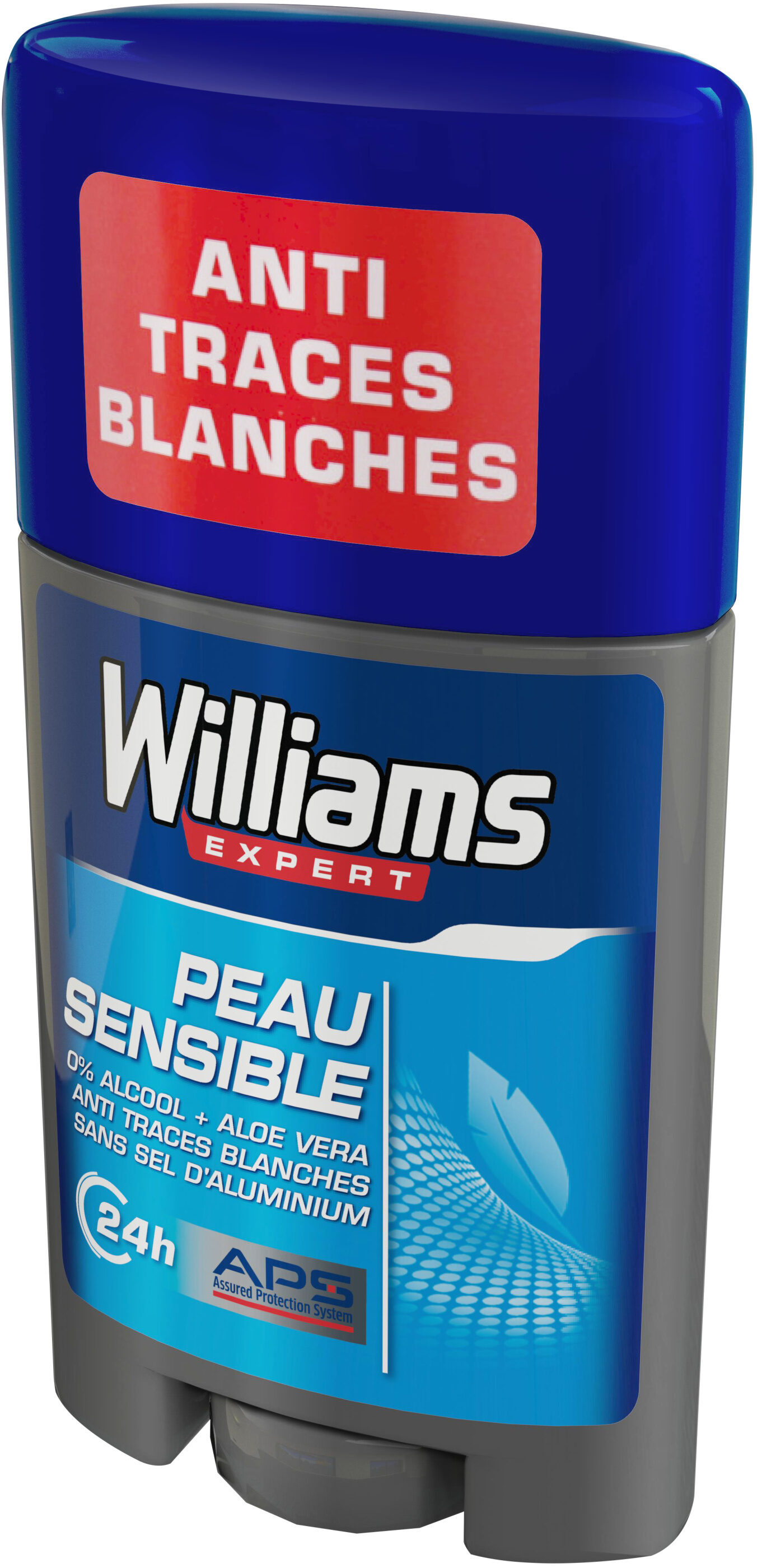 Williams Déodorant Homme Stick Peau Sensible - Product - fr