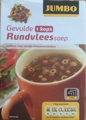 Gevulde rundvleessoep - Product - nl
