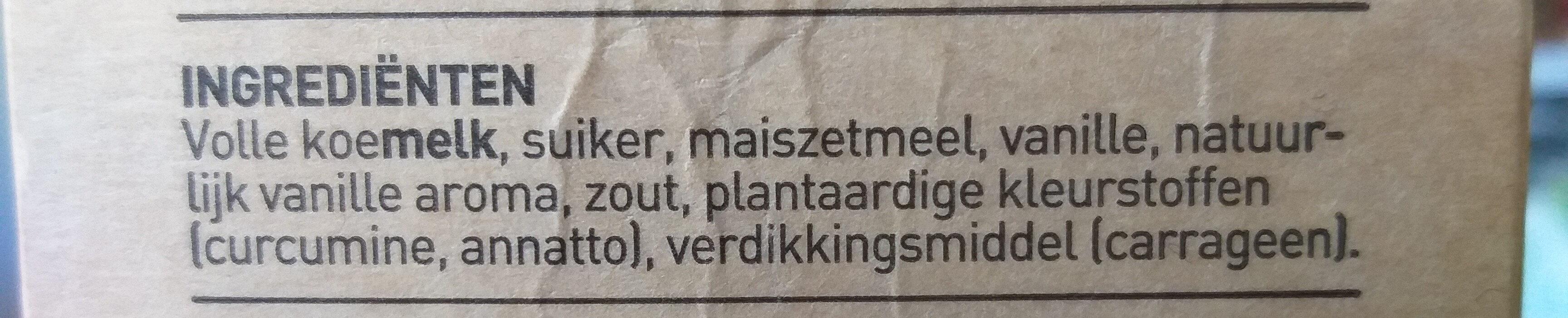 Den Eelder boeren vanille vla - Ingredients - nl