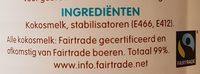 Coconut Milk - Ingredients - en
