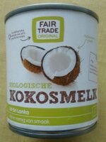 Lait de coco kokosmelk - Product - fr