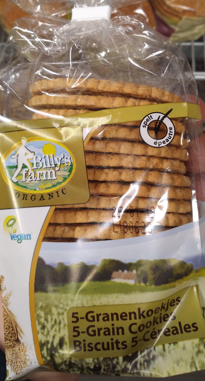 Billy's farm 5 grain cookies - Produit