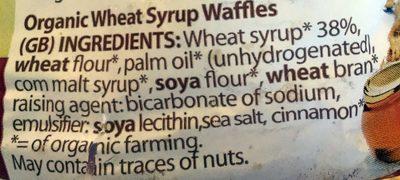 Tarwestroopwafels - Ingredients - en