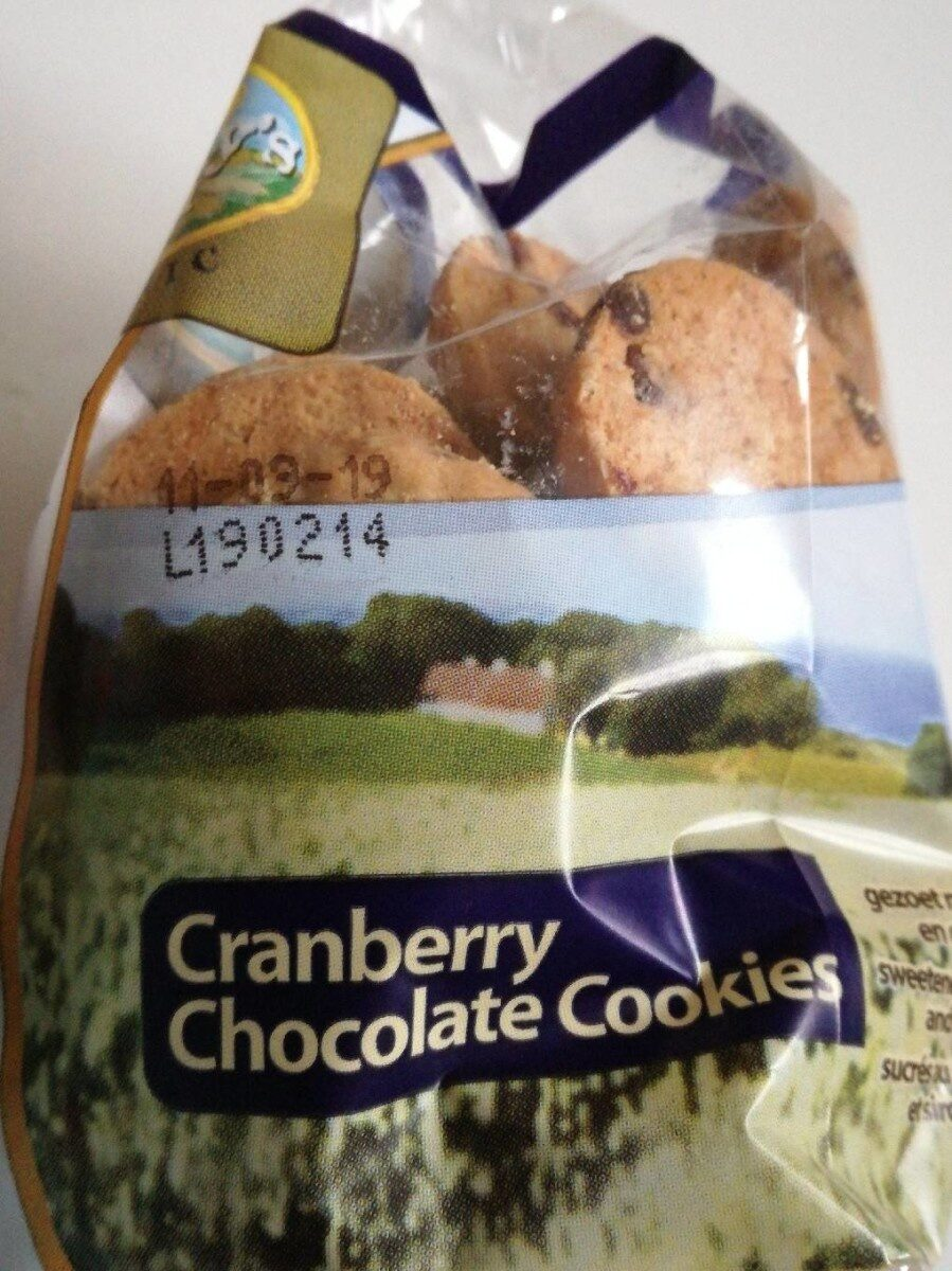 Canberry chocolate cookies - Produkt - fr