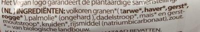 Speculoos - Ingredients - nl