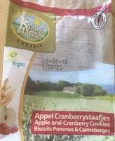 Appel Cranberrystaafjes - Product