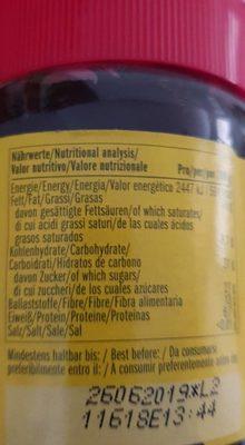 Carobella organic - Ingrédients - fr