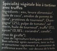 Faux Gras - Ingrédients - fr