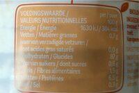 Galettes de maïs - Valori nutrizionali - fr