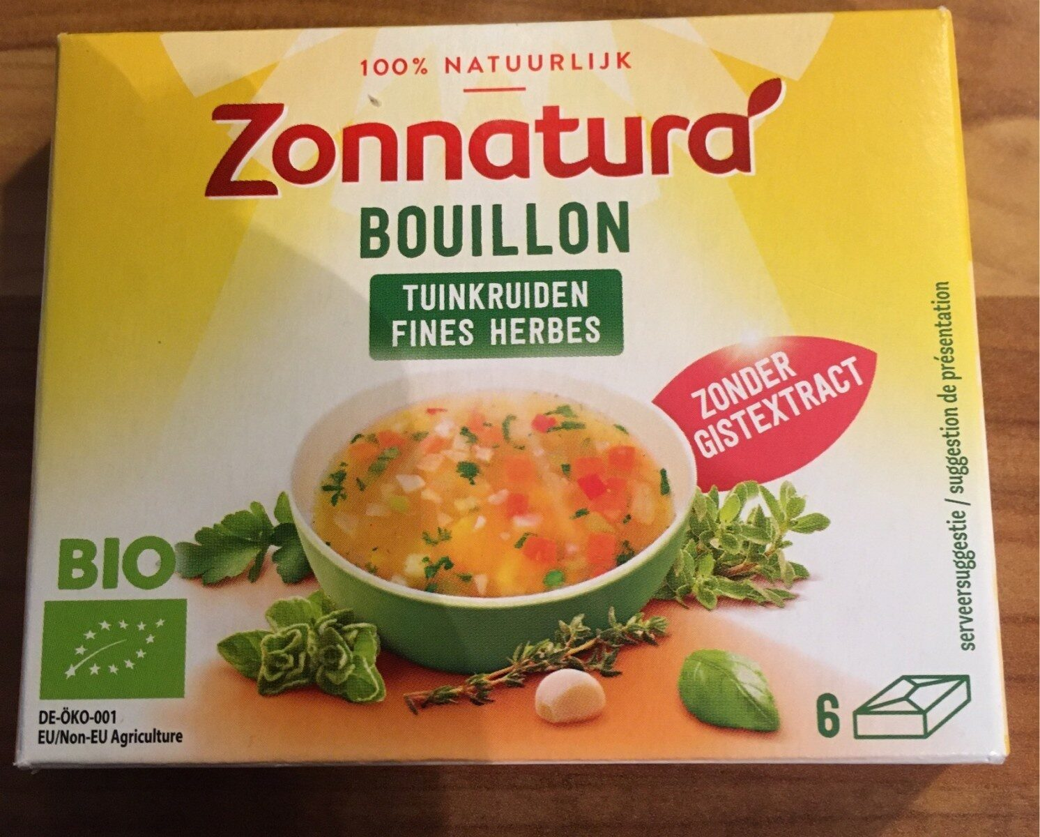 bouillon fines herbes - Product - fr
