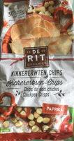 De Rit Kichererbsen Chips Paprika, 80 GR Beutel - Produit