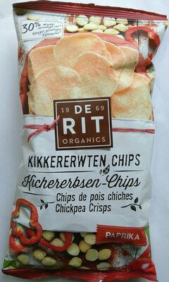 Kikkererwten Chips Paprika - Product - nl
