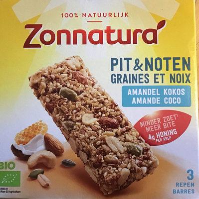 Pit&noten - amandel kokos - Product - nl