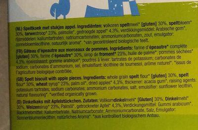 Vbbb - Ingrediënten - nl