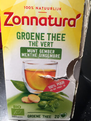 Zonnatura green thee - Product