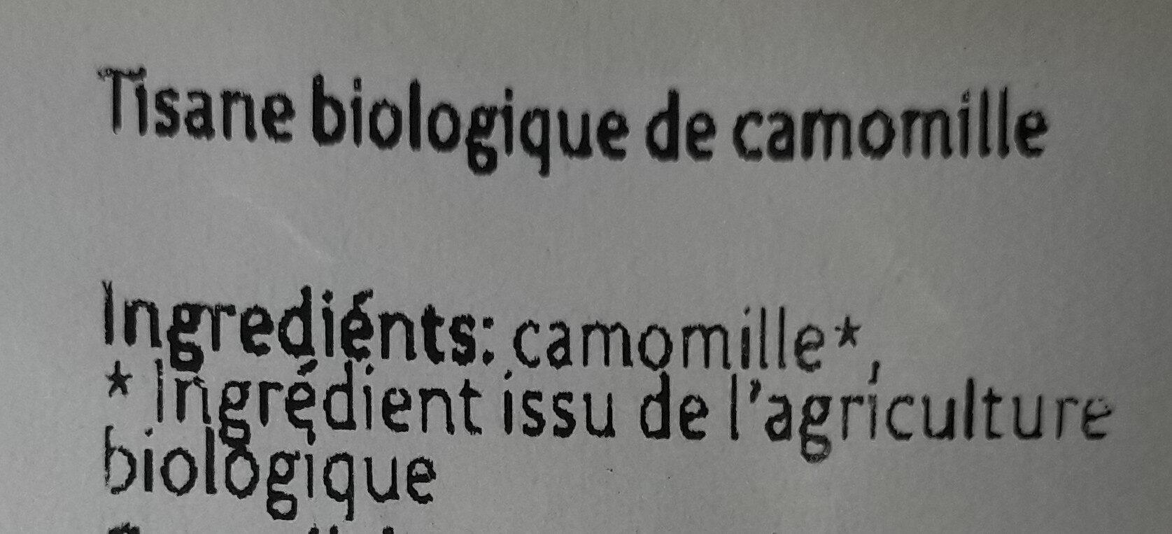 Kamille - Ingredients - nl