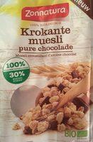 Krokante muesli pure chocolat - Product