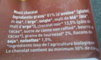 Muesli Pure Chocolade - Ingrediënten - fr