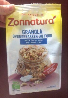 Granola au four - Produit