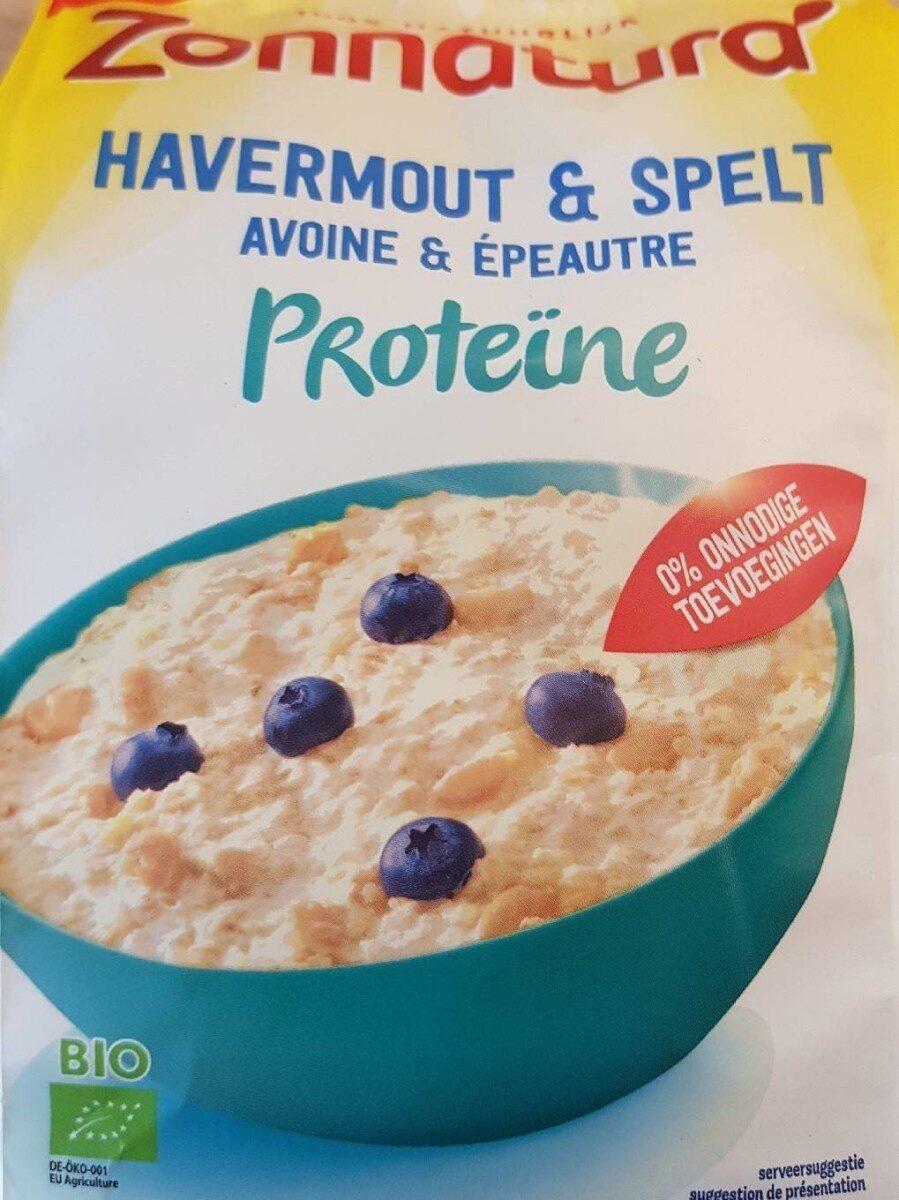 Havermout en spelt - Product - fr