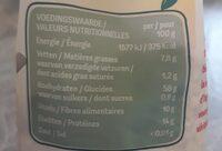 Flocons d'avoine sans gluten - Nutrition facts - fr