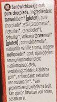 Choco Duo's - Ingrediënten - nl