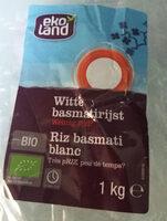 Riz basmati blanc - Produit