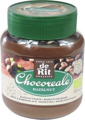 Pâte à Tartiner Au Cacao & Noisettes Bio Chocoreale - - De Rit - Product - fr