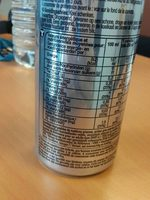 Taurine drink  Psychik - Nutrition facts