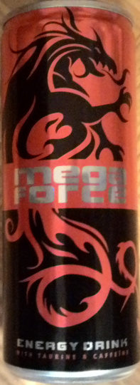Mega Force Energy Drink with Taurine & Caffeine - Product