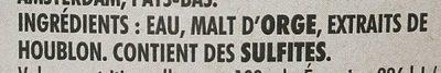 Biere - Ingrediënten - fr