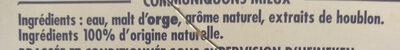 Bière sans alcool - Ingredienti - fr