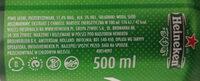 Heineken Beer - Relief Piensa En Verde Club - Składniki - pl
