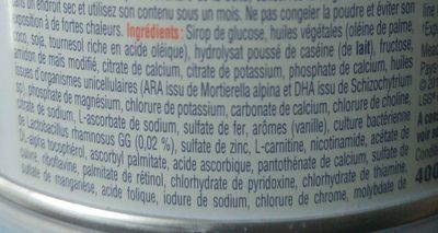 Nutramigen LGG 3 - Ingrediënten
