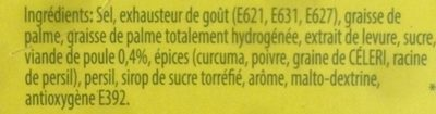 Hühnerbouillon - Ingrediënten - fr