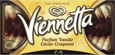 Viennetta Dessert Glacé Parfum Vanille Cacao Craquant 7 parts 650ml - Produit