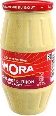 Amora Moutarde de Dijon Fine et Forte Bocal 440g - Produit - fr