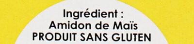 Fleur de Maïs - Ingredients - fr