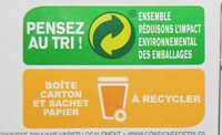 Maizena Farine de Maïs Sans Gluten - Recycling instructions and/or packaging information - fr