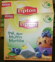 Thé façon Muffin Myrtille - Product