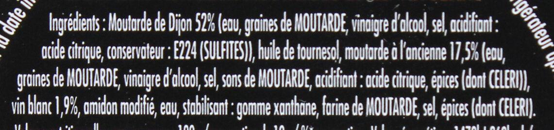 Maille Mayonnaise Fine Qualité Traiteur Verrine - Ingredients - fr