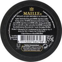 Maille Mayonnaise Fine Qualité Traiteur Verre 150g - Voedingswaarden