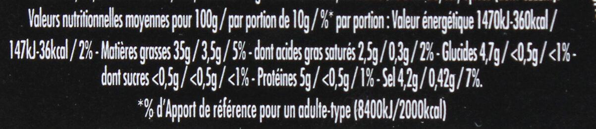 Maille Mayonnaise Fine Qualité Traiteur Verrine - Nutrition facts - fr