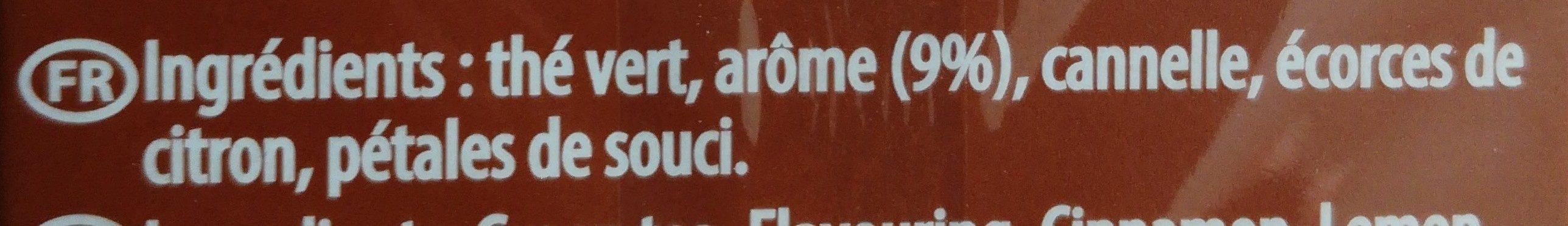 Thé vert volute caramelita - Ingredients - fr