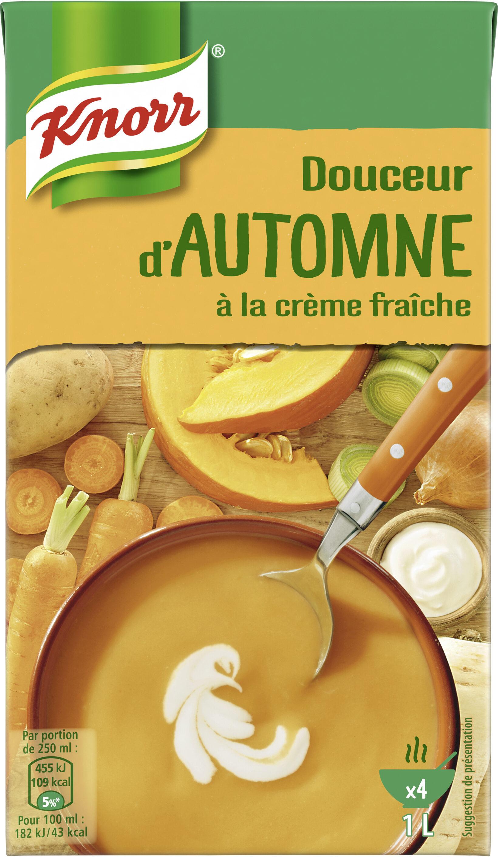 Knorr Les Classiques Soupe Liquide Douceur d'Automne à la crème fraîche 1l - Product - fr